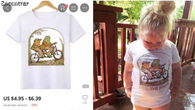 Parents horrified by daughter's shirt containing vulgar phrase