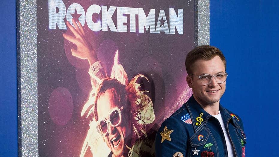 Taron Egerton says Elton John's music is the beating heart of 'Rocketman'