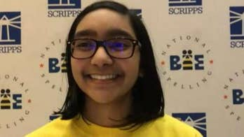 Jesse Watters puts National Spelling Bee co-champ to the test