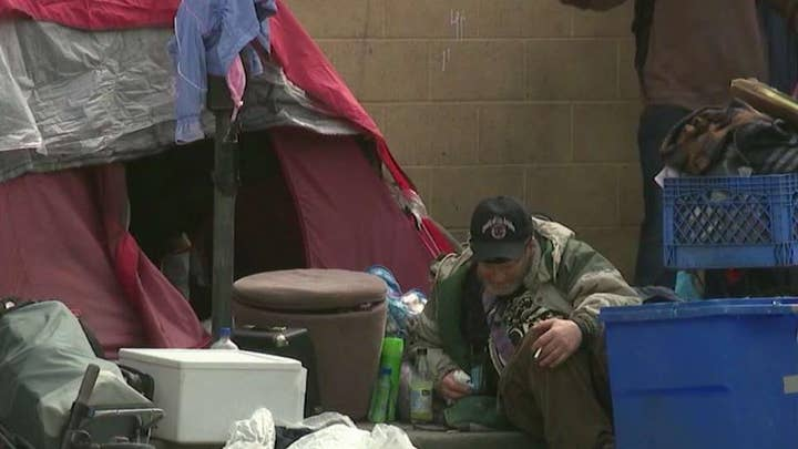 Homeless epidemic, trash buildup blamed for serious illnesses among Los Angeles police officers