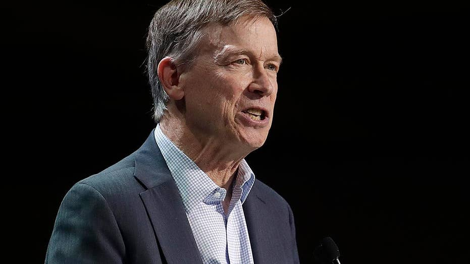 John Hickenlooper gets booed in California for denouncing socialism