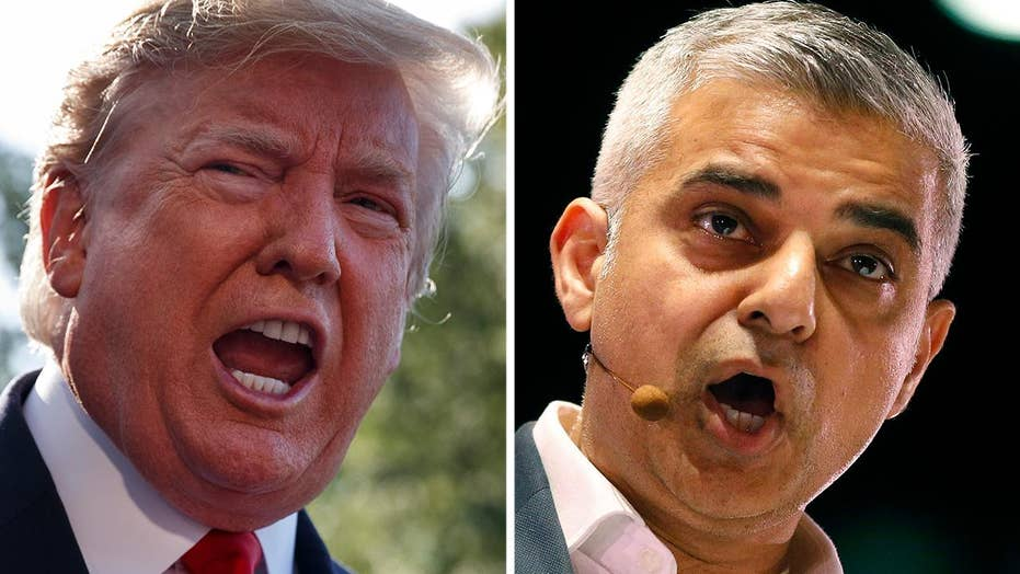 Trump: Mayor of London is a 'stone cold loser'