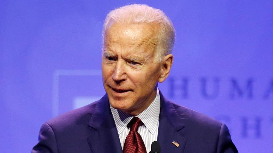 2020 Democratic presidential hopefuls take aim at Joe Biden