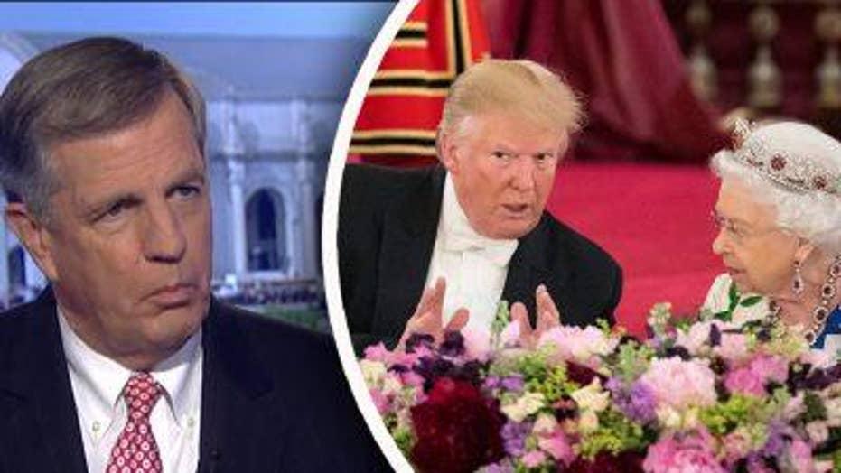 Brit Hume on Trump Trip