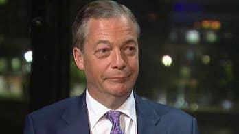 Nigel Farage on Trump's visit to the UK