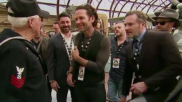 WWII veterans meet 'Band of Brothers' actors