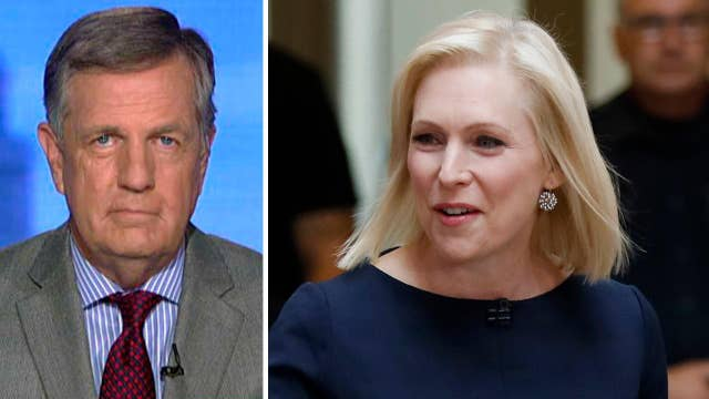 Brit Hume says Sen. Kirsten Gillibrand may be Washington's 'most flexible' politician