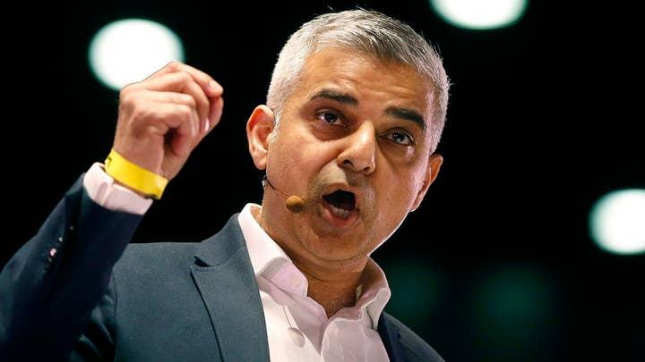 London mayor Sadiq Khan butts heads with Trump over UK visit