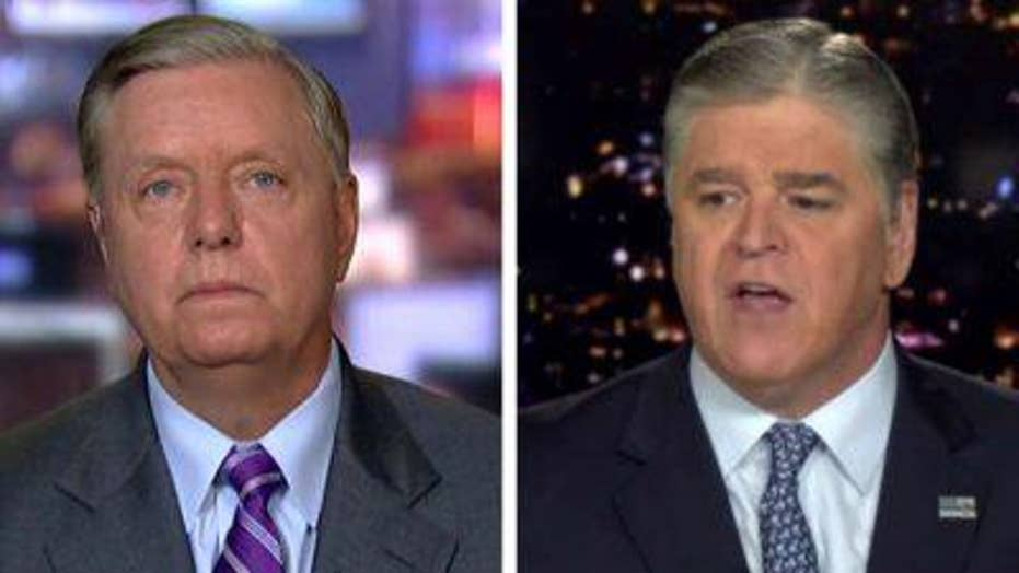 Lindsey Graham on how to proceed after Mueller probe