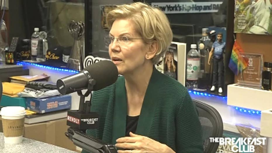 Elizabeth Warren compared to Rachel Dolezal during radio interview
