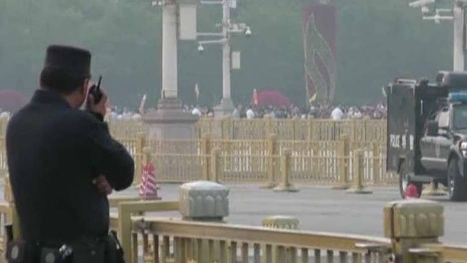 China tightens security 30 years after Tiananmen Square protests