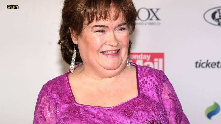 Susan Boyle explains why she was relieved to be diagnosed with Asperger's Syndrome