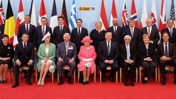 World Leaders gather on the 75th anniversary of D-Day