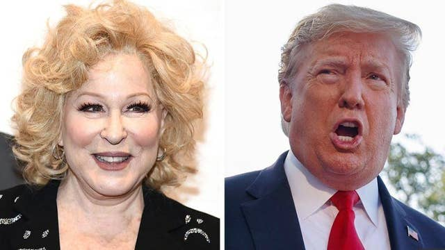 Bette Midler creates social media mess with tweet calling for president to be stabbed