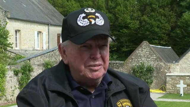 94-year-old veteran returns to France for D-Day anniversary
