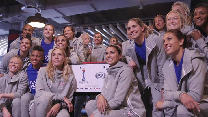 USWNT given one-of-a-kind foosball table with replica of each player