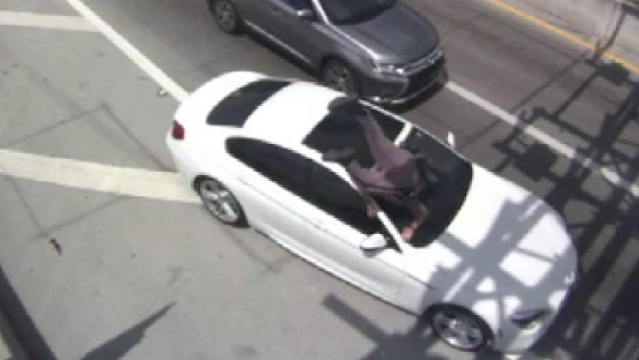 Graphic video: Florida state trooper struck by fleeing suspect