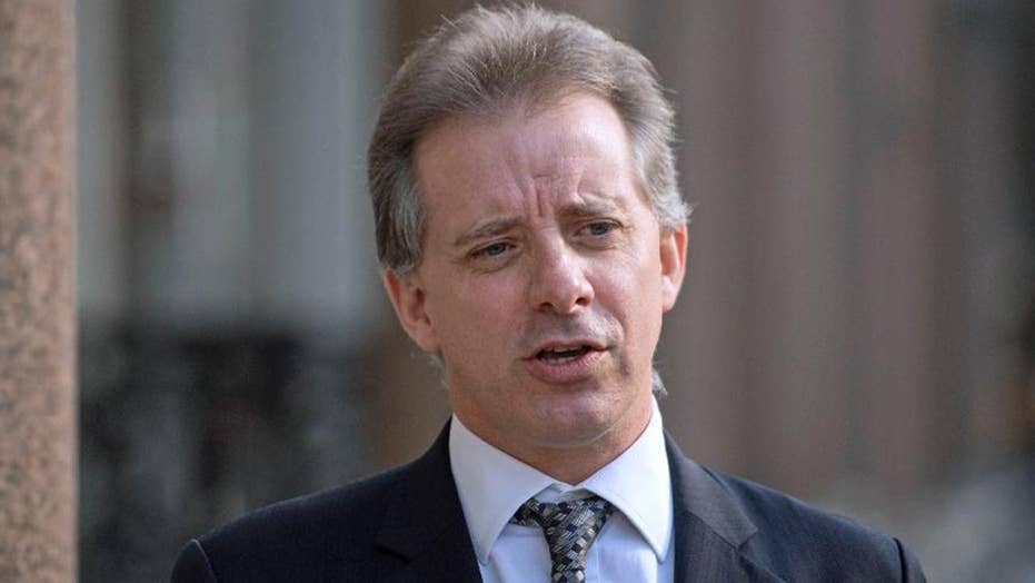 Christopher Steele reportedly agrees to be questioned by the FBI about the anti-Trump dossier