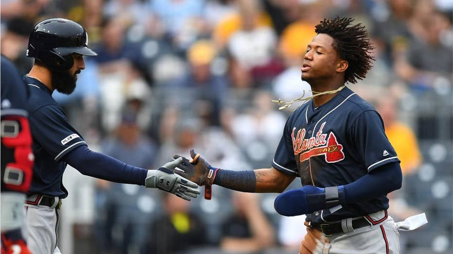 Image result for ronald acuna chain