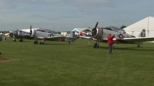 Veterans take part in fly-over to commemorate 75th anniversary of D-Day
