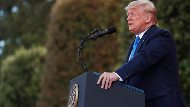 President Trump speaks at 75th D-Day anniversary ceremony in Normandy, France