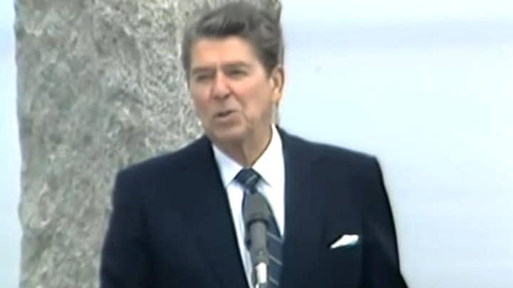 Remembering President Reagan's historic D-Day speech