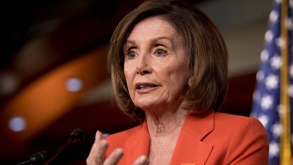 Speaker Nancy Pelosi reportedly tells Democrats she wants to see President Trump 'jailed'