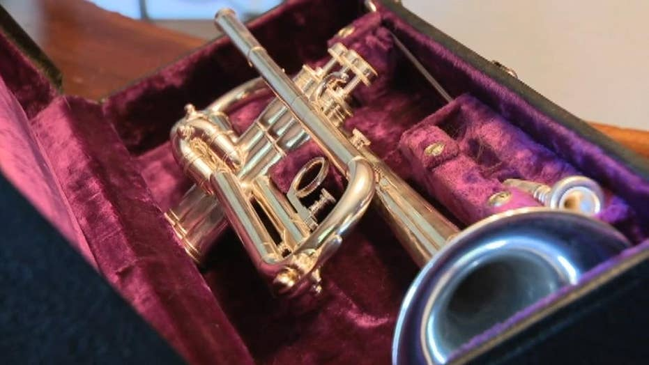 Trumpet used on D-Day returns to Normandy 75 years later to be used in anniversary services