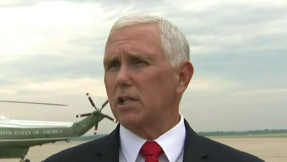 Vice President Mike Pence says Mexico needs to take action