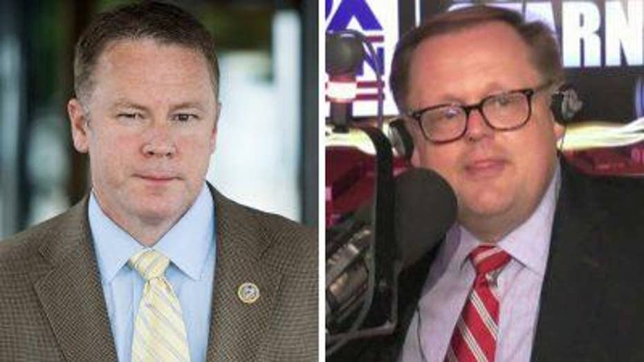 Todd Starnes and Warren Davidson