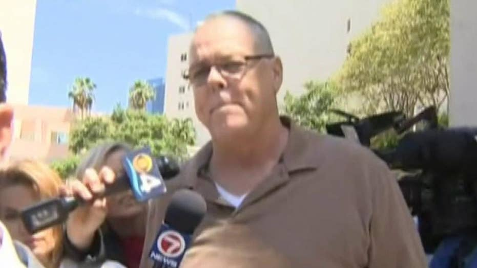 Raw video: Former Broward County Sheriff's resource officer leaves jail after being released on bond