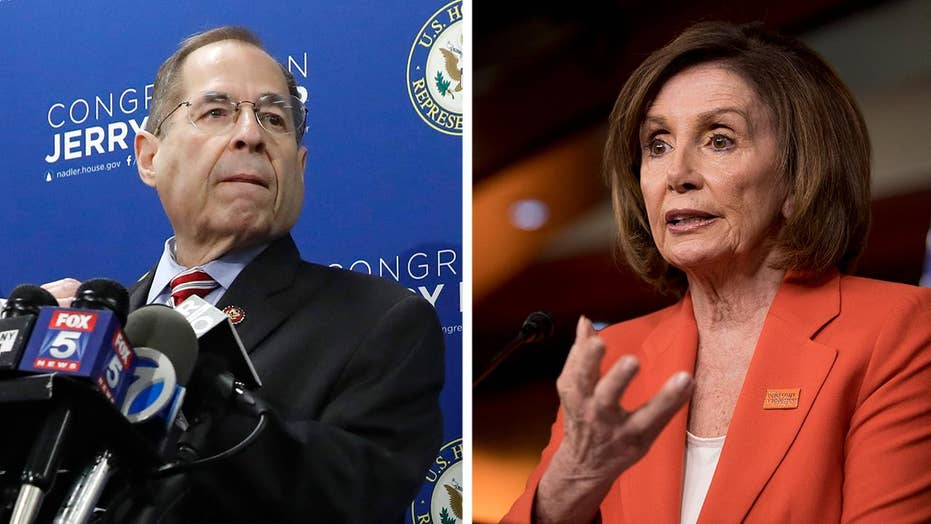 Top Democrats battle over how to pursue President Trump