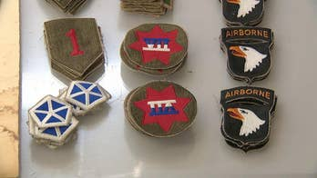 D-Day combat patches reproduced by California company honoring US soldiers