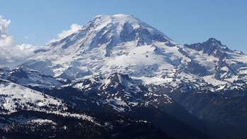 Daring rescue near the summit of Mt. Rainier