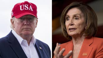 President Trump launches blistering attack on Nancy Pelosi