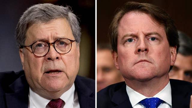 Trump administration, DOJ officials push back, say House Democrats' subpoena was overly broad thumbnail