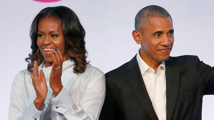 The Obamas' media empire expands; more screams from 'Halloween'?