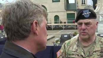 Army chief of staff Gen. Mark Milley leads symbolic re-enlistment of 101st Airborne