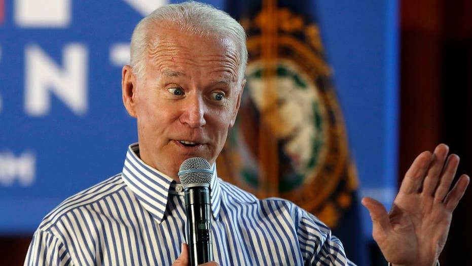 Biden caves to media pressure