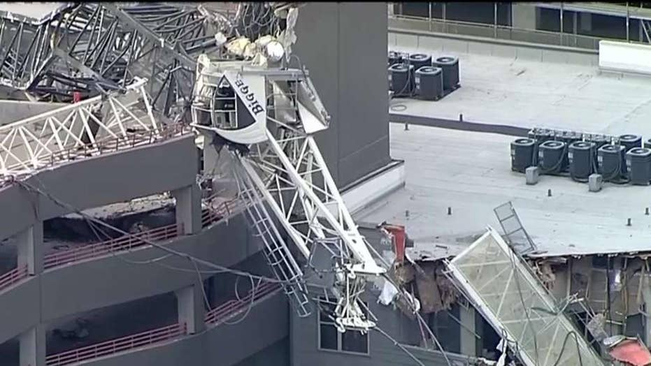 One dead after crane collapses in downtown Dallas