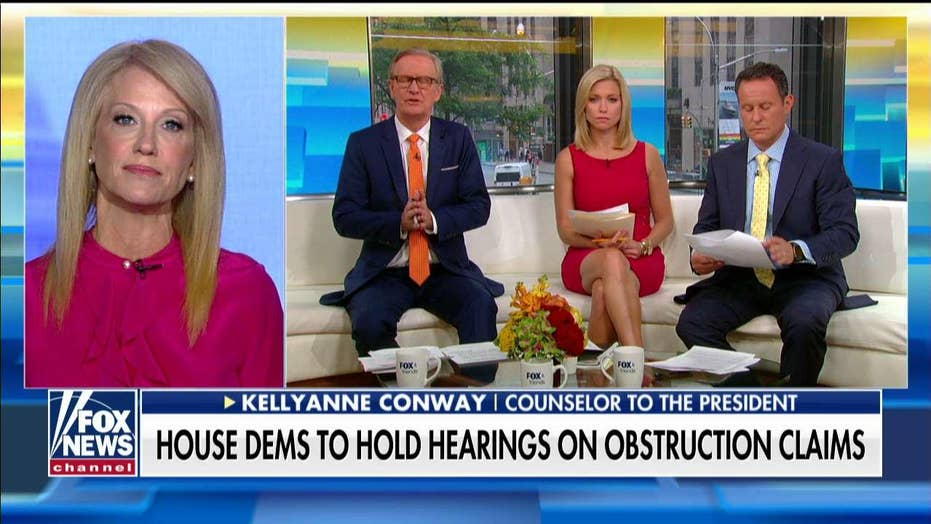 Conway blasts Nancy Pelosi for losing control of her 'temper' and her House caucus