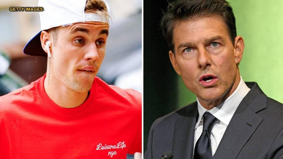 Justin Bieber challenges Tom Cruise to a fight in bizarre tweet