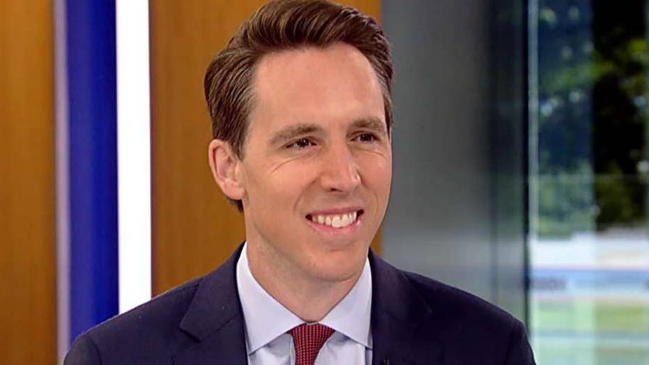 Sen. Hawley says Democrats are putting Mueller report, 2020 ahead of the issues