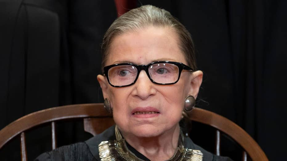 Justice Ruth Bader Ginsburg hints at sharp divisions within the Supreme Court