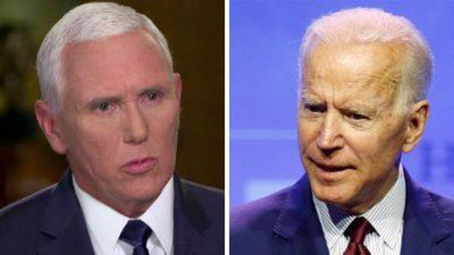 Mike Pence discusses Joe Biden in exclusive interview on