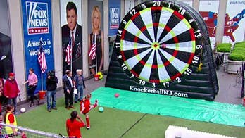 Soccer dart and pool games come to life on 'Fox & Friends'