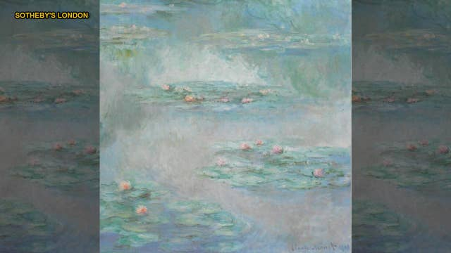 Monet painting not seen for 87 years expected to fetch $44.6 million at auction
