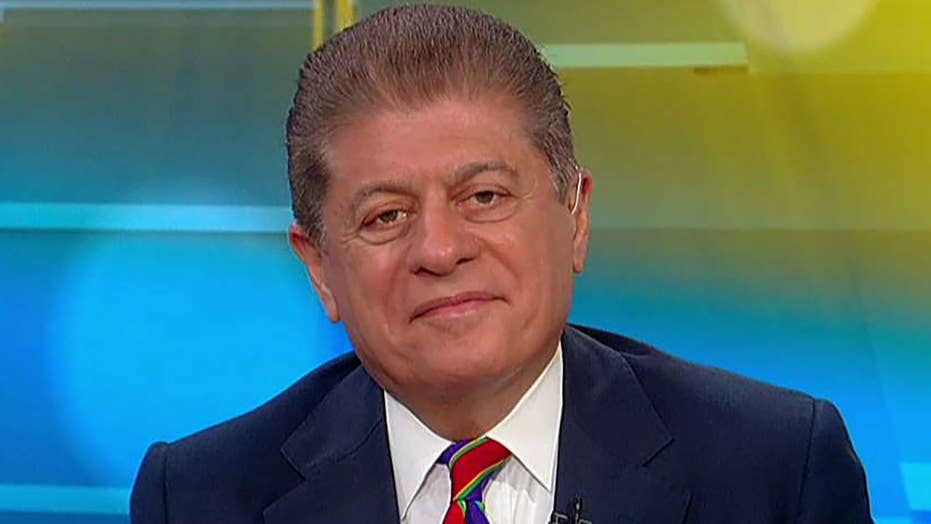 Judge Napolitano 'surprised' that DOJ would release Mueller documents to Congress