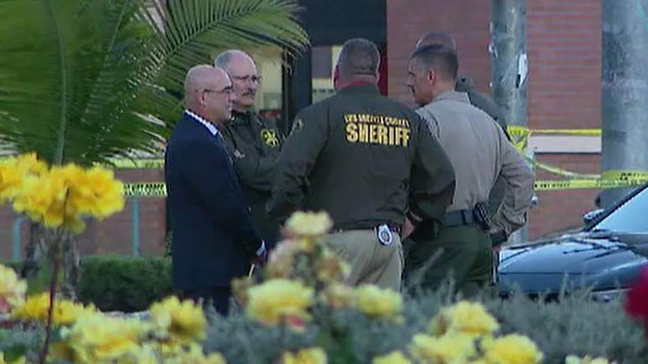 Off duty California sheriff's deputy shot in head at restaurant