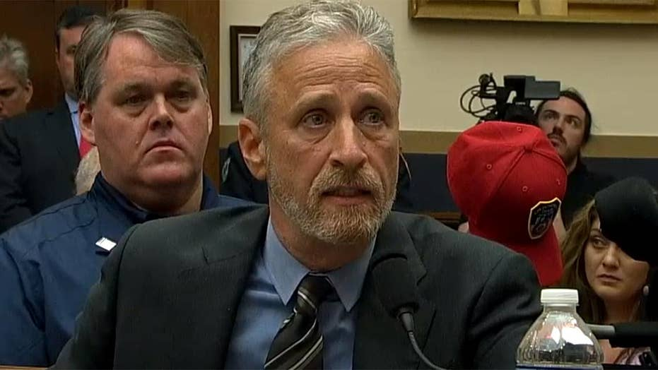 Jon Stewart slams lawmakers for failing to ensure the September 11th Victim Compensation Fund is fully funded